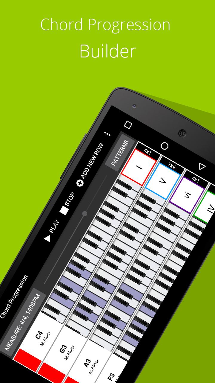 Piano Chords, Scales, Progression Companion PRO Screenshot 2