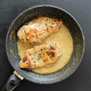 Lemon Herb Creamy Chicken.