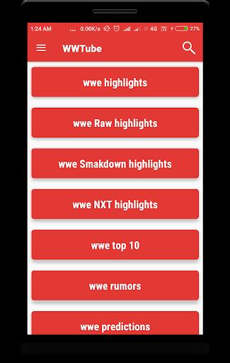 WWTUBE : FOR WWE 2.0.2 screenshots 1