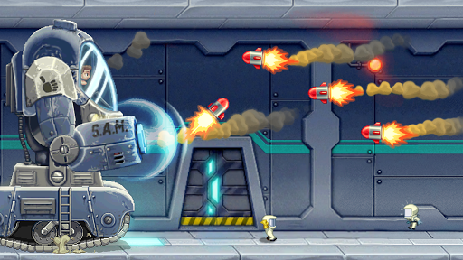 Jetpack Joyride game (apk) free download for Android/PC/Windows screenshot