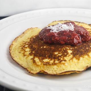Low Carb Lemon Cottage Pancakes