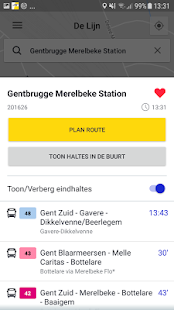De Lijn- screenshot thumbnail