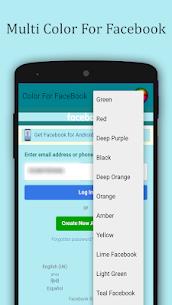 Multi color para Facebook