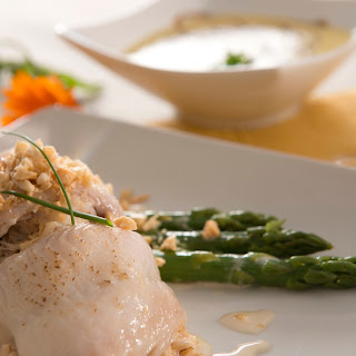Petrale Sole Stuffed with Bay Scallops and Dungeness Crab Recipe