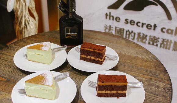 好久沒吃過這麼好吃的蛋糕了♥「法國的秘密甜點 大安門市」新品鹽之花焦糖巧克力蛋糕.卡斯特洛藍起士蛋糕@捷運忠孝復興站