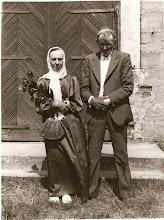 Photo: Petronėlės ir Antano Šakinių 50 metų santuokos jubiliejus. Nuotrauka iš Juozo Šakinio asmeninio archyvo.