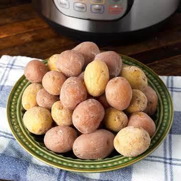 Instant Pot Syracuse Salt Potatoes | Simply Happy Foodie
