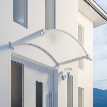 Trendline Rundbogenvordach 1600 mit integriertem Wasserspeicher