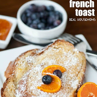 Baked Challah French Toast.