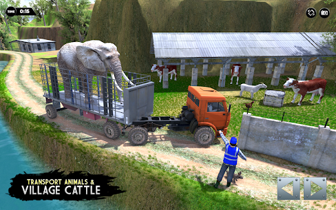 Real Animal Truck Transport Driver 2