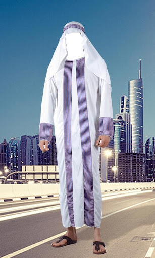 Arab Man Fashion Photo Editor