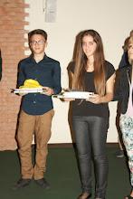 """Photo: Piccolo Agone Placidiano 2015: Vincitori per il Liceo Classico """"Francesco De Sanctis"""" di Salerno: Aida Russo e Filippo Vicinanza (3° anno)"""