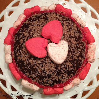 Dark Chocolate Heart Cake