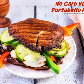 No Carb Vegan Portabello Panini