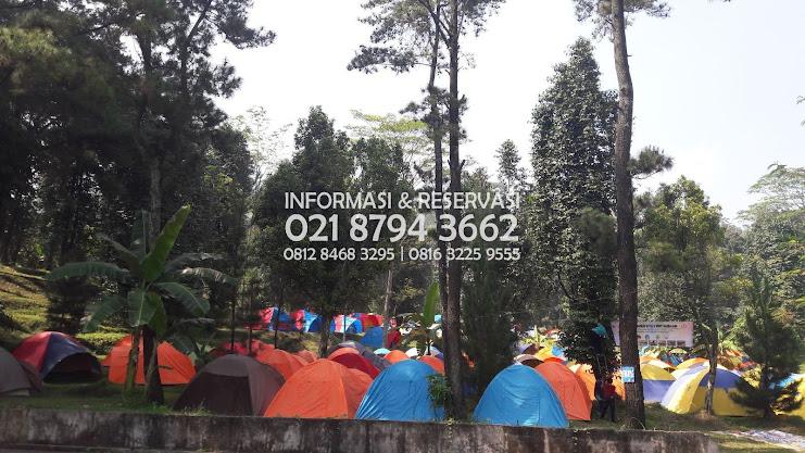 Kemping Family  Wana Wisata   Hambalang Hill Pas buat kamu yang tinggal Kawasan Karet Tengsin -  Jakarta Pusat