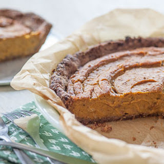 Vegan Date-Pecan Pumpkin Pie Recipe