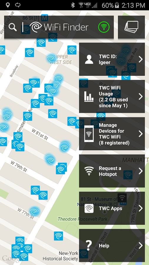 TWC WiFi Finder- screenshot