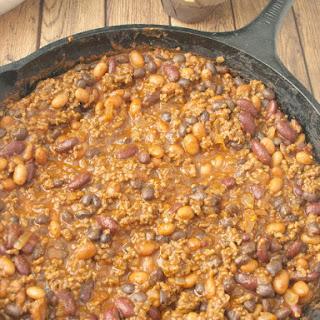 3-Bean Beef Chili.