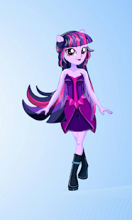 Dress Up Twilight Sparkle MLPEGames - náhled
