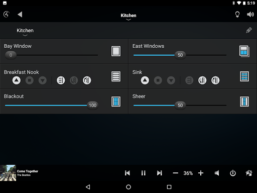 Control4u00ae for Android  screenshots 10