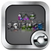 3D Science Lab Solo Launcher Theme