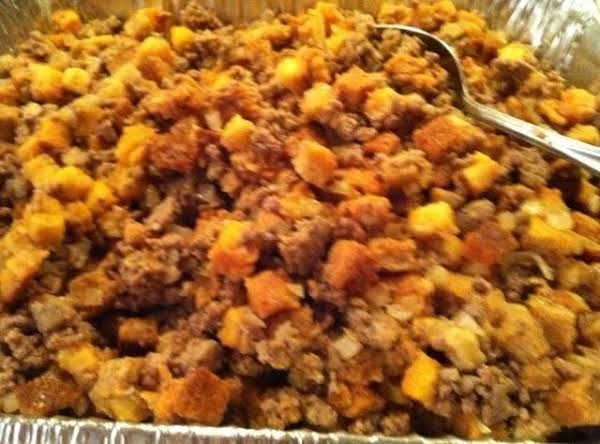 Grandpa's Sausage And Chopmeat Stuffing Recipe