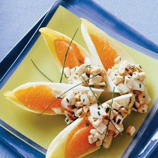 Weight Watchers Endive Spears with Chicken Salad and Red Grapefruit