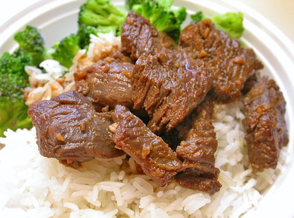 Steak Tips Over Rice By Freda Recipe