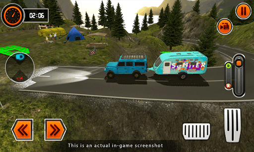 Camper Van Driving Truck 2018-Virtual Family Games ss1