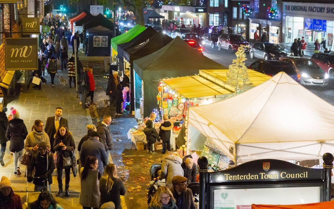 Tenterden Christmas Market Photos