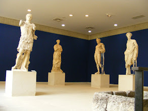 Photo: The museum contains some fine Roman statuary.