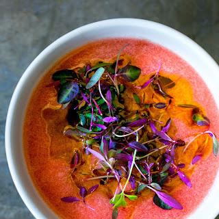 Asian-Inspired Tomato Gazpacho