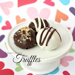 Cream Cheese Chocolate Truffles.
