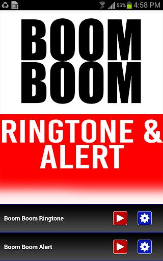 Boom Boom INTRO Ringtone