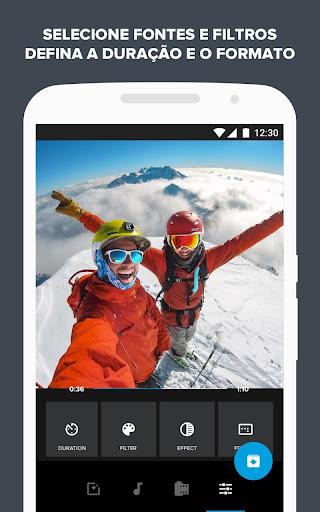 Quik - Editor de Vídeo da GoPro para fotos, clipes screenshot 3