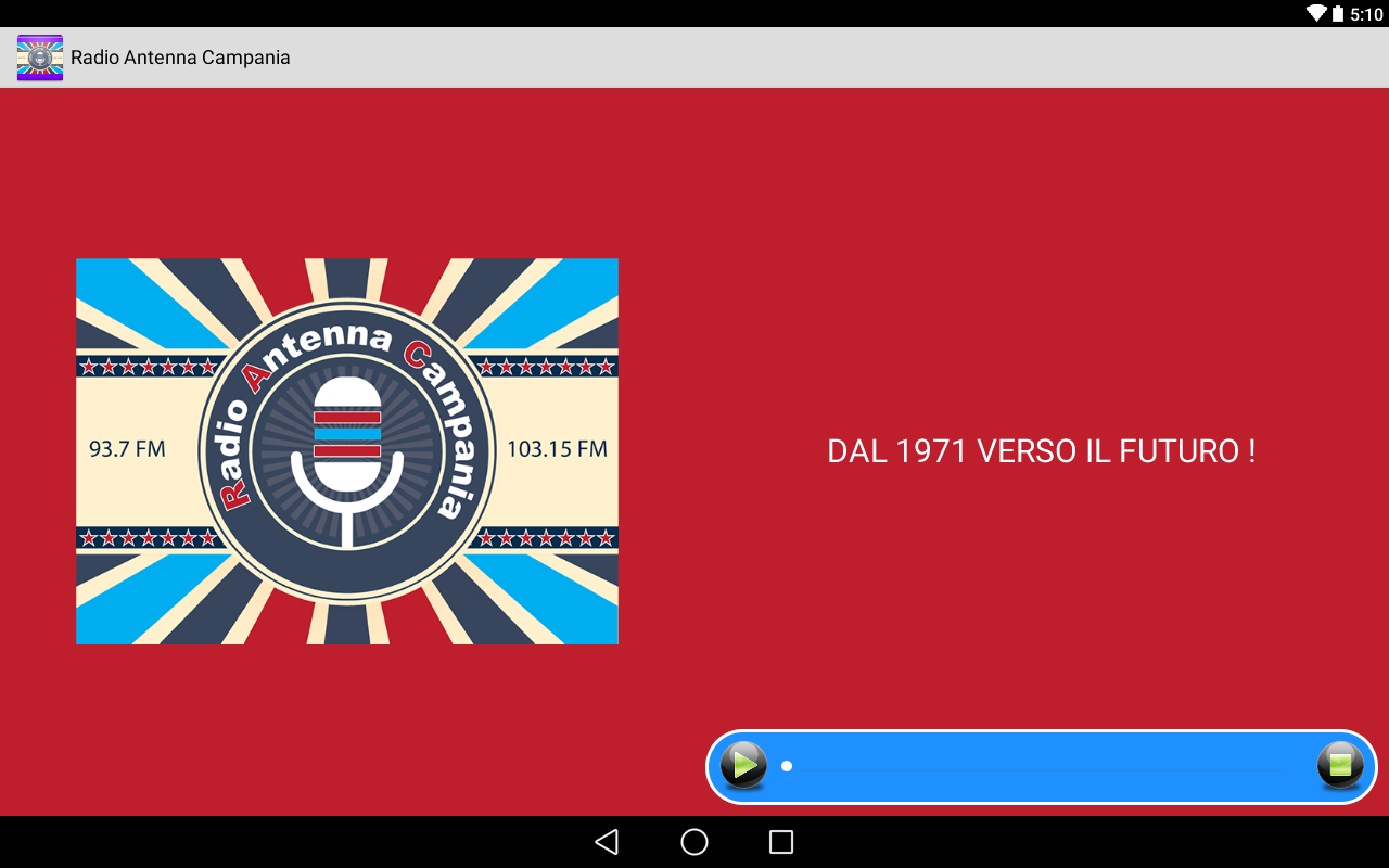 Radio Antenna Campania- screenshot