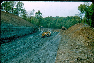 Photo: Spillway Excavation May 11th, 1955
