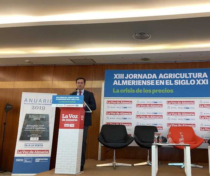El alcalde de El Ejido, Francisco Góngora, cierra las jornadas de LA VOZ.