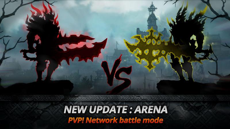 Dark Sword v1.8.0 (Mod Gold/Souls/Keys/Stamina/1 Lvl)