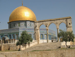 Photo: The Dome of the Rock on the Temple Mount.