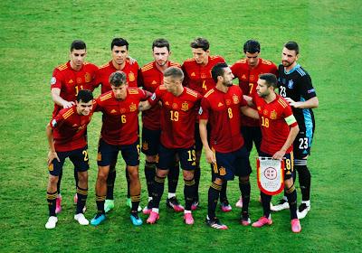 Suivez en direct commenté la rencontre entre l'Espagne et la Slovaquie