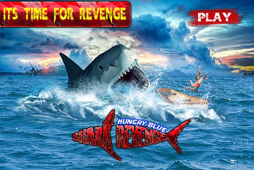 空腹のヨシキリザメの復讐