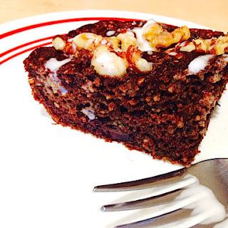Sneaky Chocolate Veggie Cake (Paleo option)
