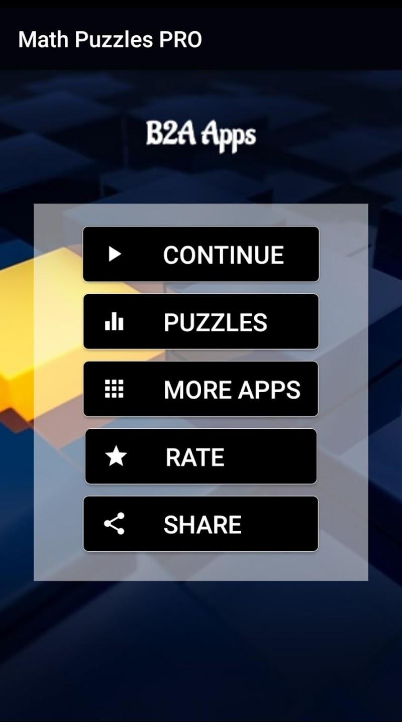 Hardest Math Riddles and Puzzles PRO 2019 Screenshot 0
