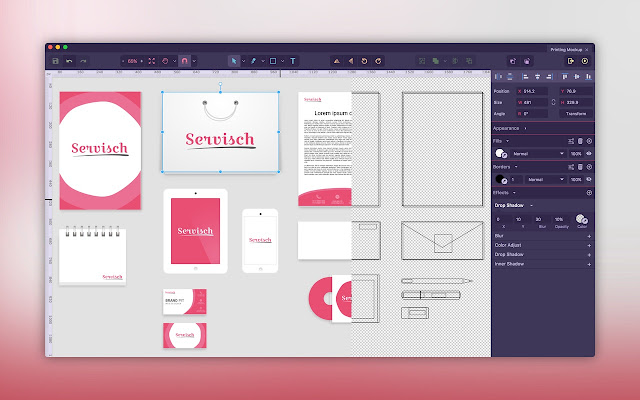 gravit designer is a full featured free vector design app right at your fingertip