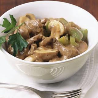 Beef and Mushroom Stew.