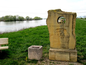 Photo: Day 21 - Memorial on the River Moselle