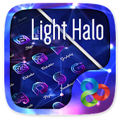 Light Halo Go Launcher Theme