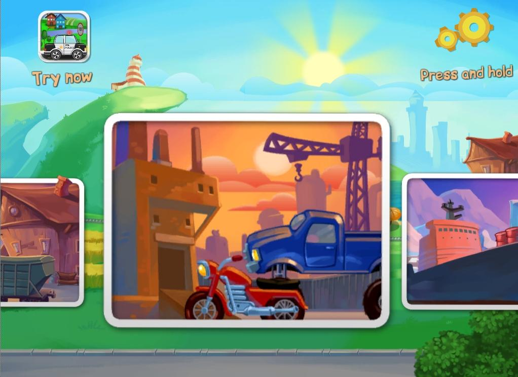 Funny Cars for Kids- screenshot