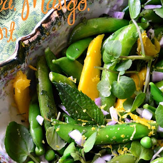 Pea, Mango and Mint Salad Recipe